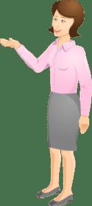 Dame viser fordeler med CRM